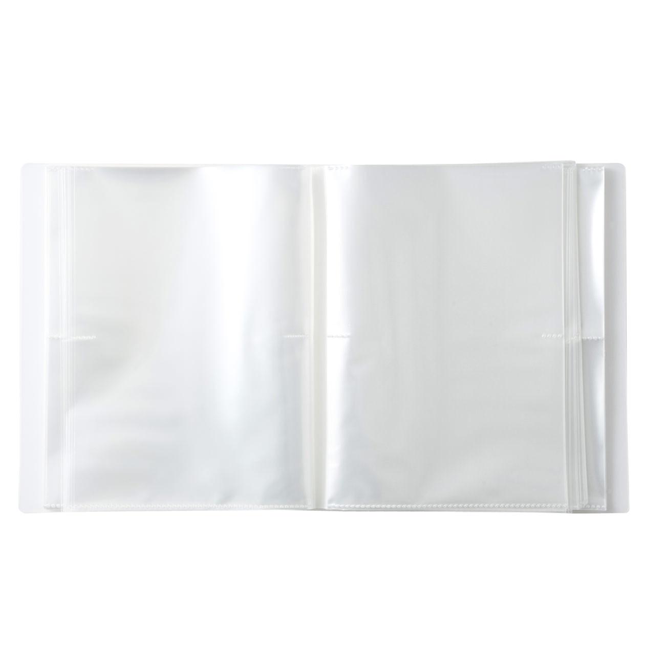 聚丙烯照片.明信片夾/2層.5x7尺寸.264袋 | 無印良品
