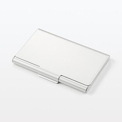 鋁製卡片盒.厚   無印良品