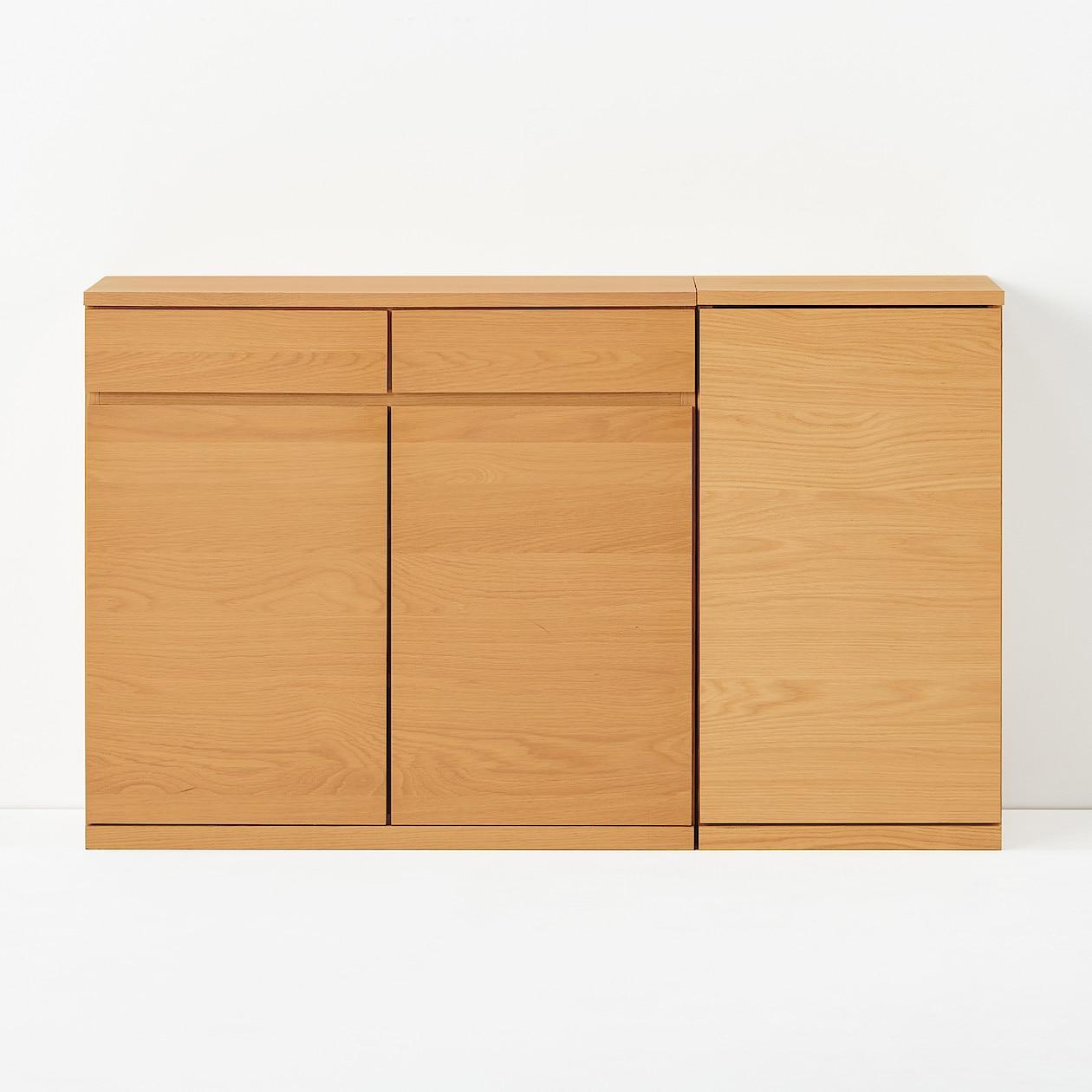 橡木窄身櫃 | 無印良品 MUJI