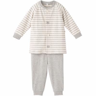 綿スムースお着替えパジャマ・長袖(ベビー)