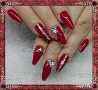 Red diamond nail - mkrm minta, mkrm mintk