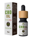 HEMP KING CBD Oil Natural Strong 15% 10 ml
