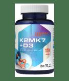 HEPATICA K2MK7 + D3 120 kaps.