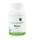 SEEKING HEALTH Niacin 50mg 100 kaps.