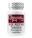CARDIOVASCULAR RESEARCH Squalene 60 softgels