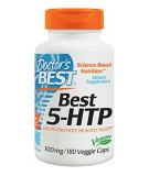 DOCTOR'S BEST Best 5-HTP 100mg 180 kaps.
