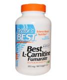 DOCTOR'S BEST Best L-Carnitine Fumarate 855mg 180 kaps.