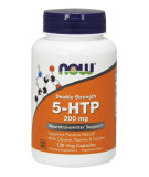 NOW FOODS Double Strength 5-HTP 200mg 120 kaps.
