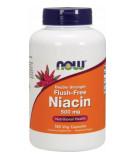 NOW FOODS Flush-Free Niacin Double Strength 500mg 180 kaps.