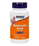 NOW FOODS Hyaluronic Acid with MSM 60 kaps.