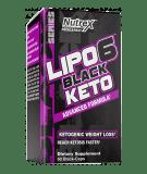 NUTREX Lipo-6 Black Keto 60 kaps.