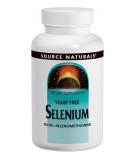 SOURCE NATURALS Selenium, Yeast Free 200mcg 60 tab.