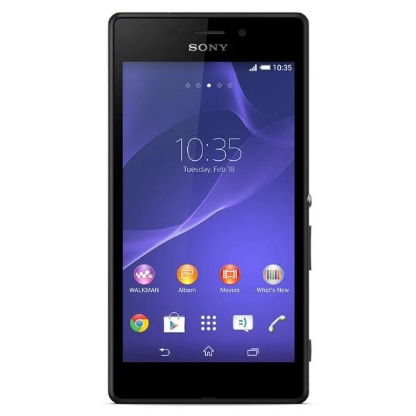 Смартфон Sony Xperia M2 Aqua D2403 Black