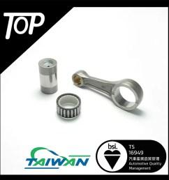 connecting rod kit for kawasaki kfx 400 [ 900 x 900 Pixel ]