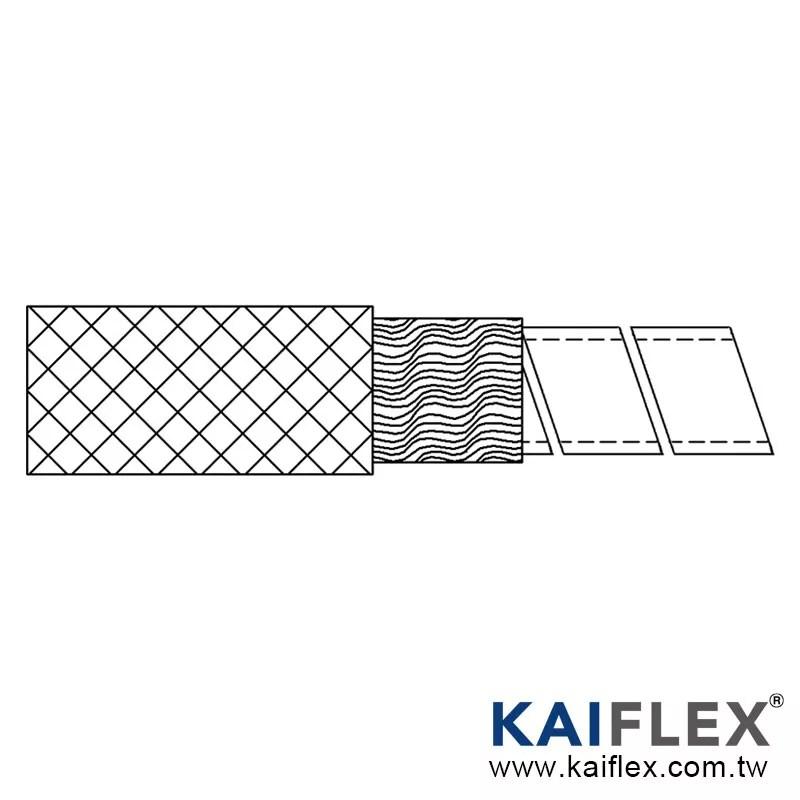 Stainless Steel Mono Coil Tube + Aluminum Foil + Stainless