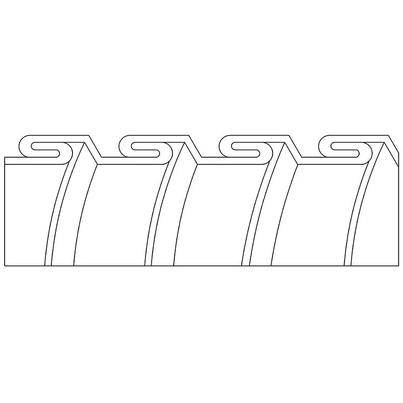 Stainless Steel Interlocked (Retractable Type)