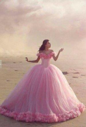 Vestido de xv color rosa  Posot Class