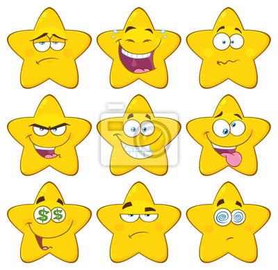 Funny Emoji White Background
