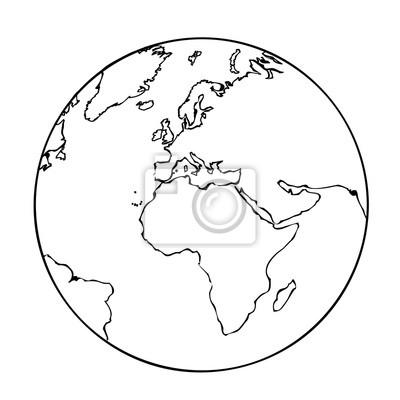 Ausmalbild Unsere Erde Kinder Ausmalbilder
