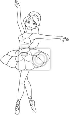 Ballerina malvorlagen leinwandbilder • bilder Geschichte