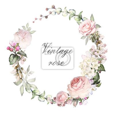 Vintage Hochzeit Rosa