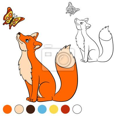 Malvorlage Fuchs  Coloring Page Fox Img 29040 Fuchs