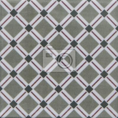 papiers peints carrelage vintage avec motif geometrique 1 8