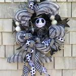 Nightmare Before Christmas Wreath Jack Skellington Wreath Ashley12