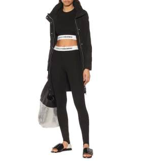 Top cropped in jersey stretch | Paco Rabanne