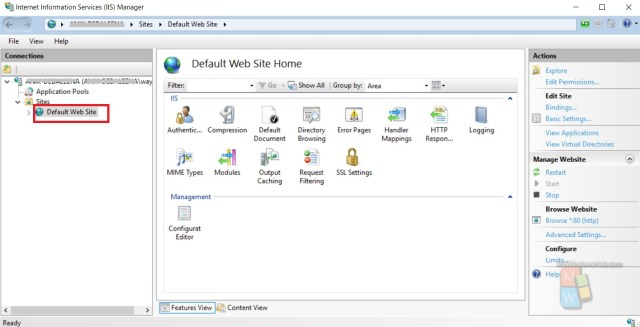 How To Install and Setup a Website in IIS on Windows 27?