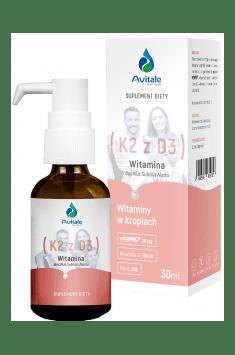 Vitamin K2 with D3 20mcg/500IU