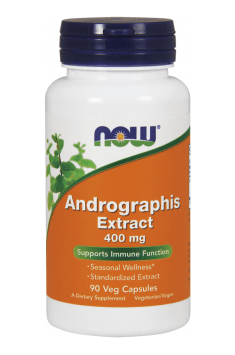 Now Foods Andrographis Extract 400mg - Online Shop with ...