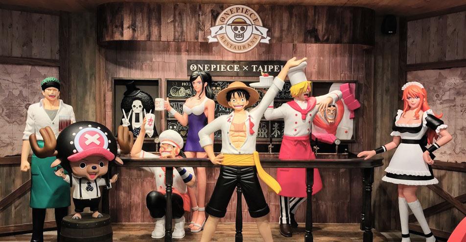 台灣航海王餐廳 ONE PIECE Restaurant Taipei|航海王海外第一家餐廳 在台北東區開幕了!