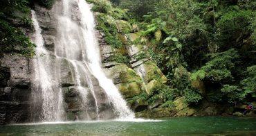 南投鹿谷景點》小半天德興瀑布 小半天雙瀑布秘境,玩水免費景點,天然避暑勝地(寵物玩水)