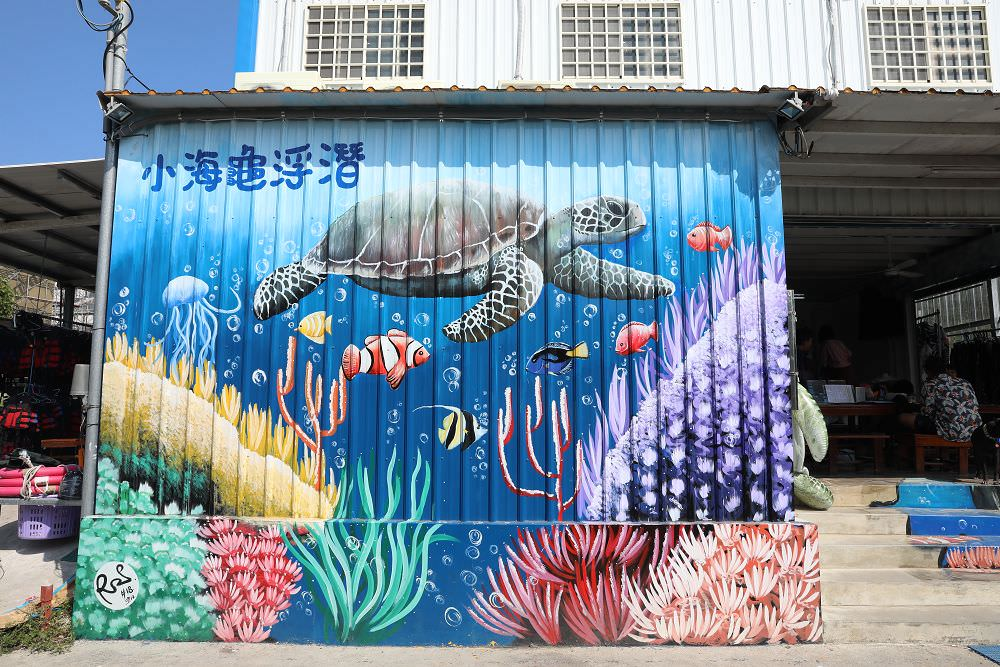 小琉球》小海龜浮潛店。帶寵物一起浮潛,與海龜共遊,欣賞美麗海底世界 - Nana愛旅行札記