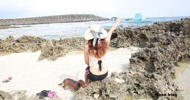 【墾丁旅遊景點推薦】墾丁小巴里島| 網路爆紅景點超美海景|珊瑚礁石|核三廠出水口|後壁湖|狗狗游泳去|Kenting Tour,Small Kenting Bali