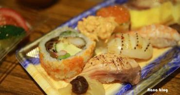 【台中北區太原路美食】本壽司日本料理。CP值很高的無菜單精緻料理,超鮮甜的生魚片與新推出平日午餐限定外帶壽司餐盒。台中日本料理│台中北區餐廳