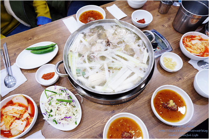 【旅遊✈KOREA】2015櫻在首爾*梨大/新村站‧孔凌一隻雞。黯然銷魂的粥~去韓國絕對不能錯過的一隻雞!
