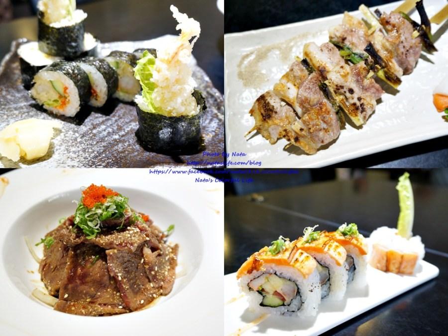 【美食♔台南安平區日式料理】日銘手作リ壽司  お造り 燒物 揚物。「帶長輩聚餐好所在」C/P值頗高是住宅區的人氣料理~還有隱藏版菜單哦