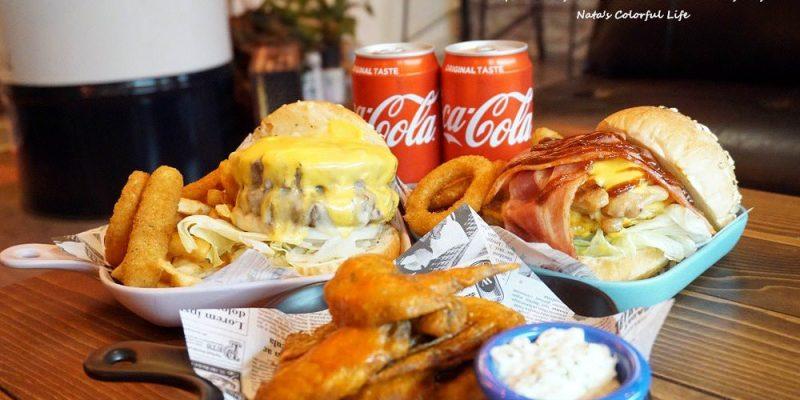 【美食♔台南東區美式漢堡】肉慾熊美式漢堡(那位熊先生)。育樂街美食!對肉就是欲罷不能的想吃│台南美式漢堡