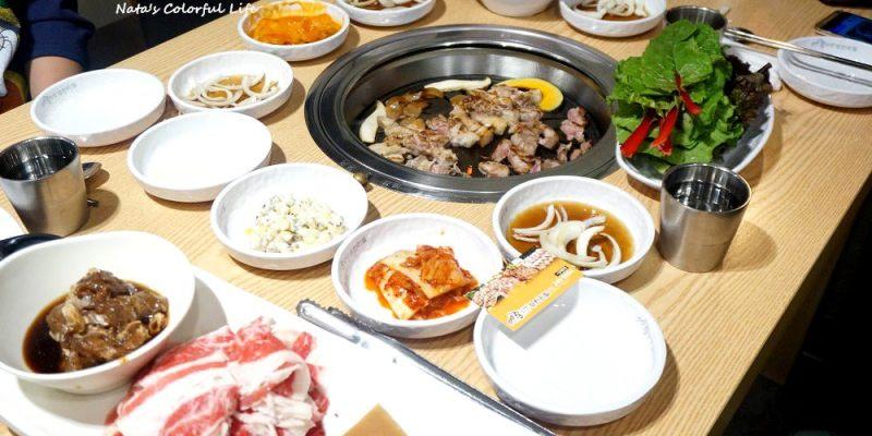 釜山自由行│南浦洞美食│99통삼겹豬五花燒烤吃到飽。愛吃肉的朋友又新選擇