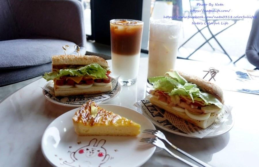 【美食♔台南北區早午餐】汏凉Tea&Cafe。法式潛艇堡新上市~可愛客製化甜點畫盤│台南咖啡廳