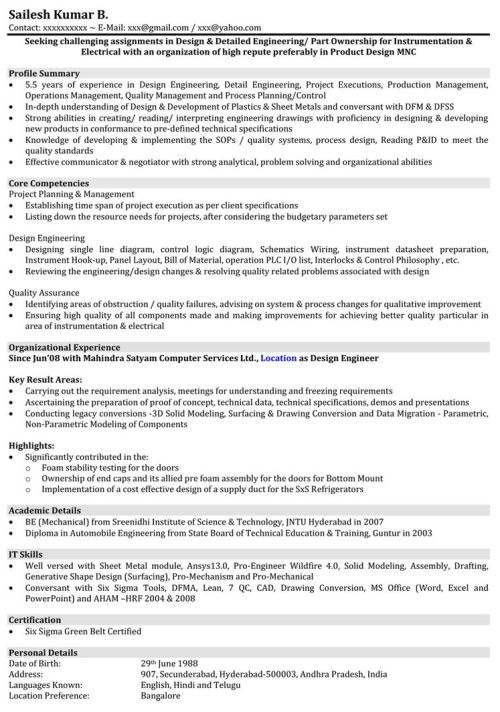 small resolution of download automobile resume samples