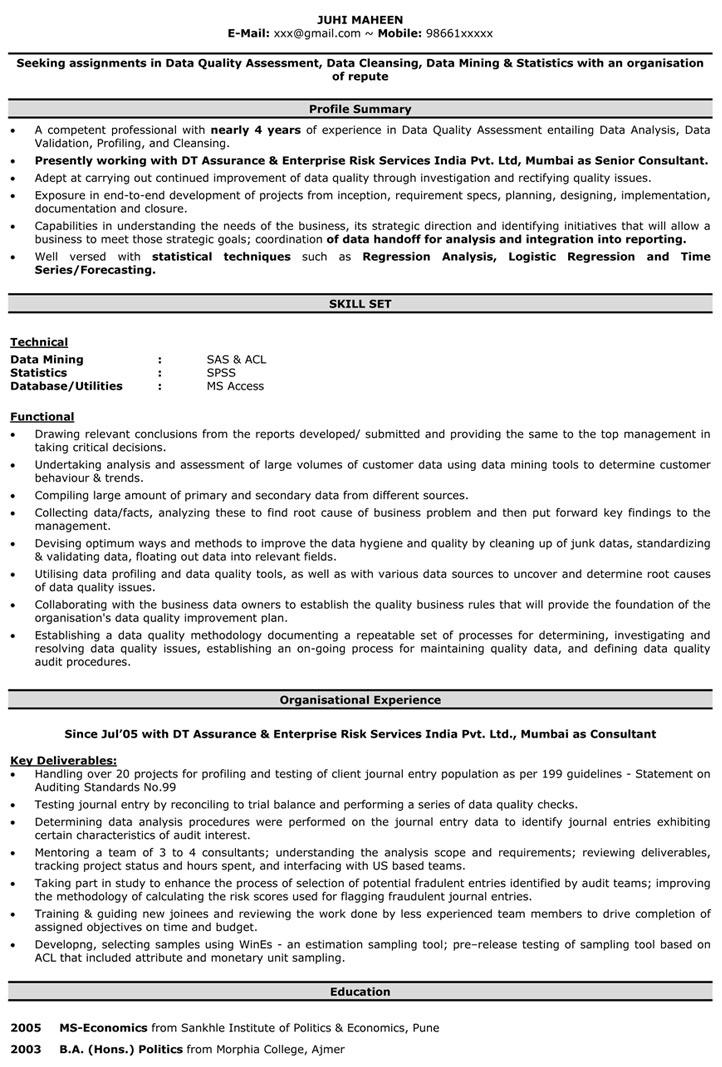 Data Entry Resume Samples Data Entry Operator Resume Format