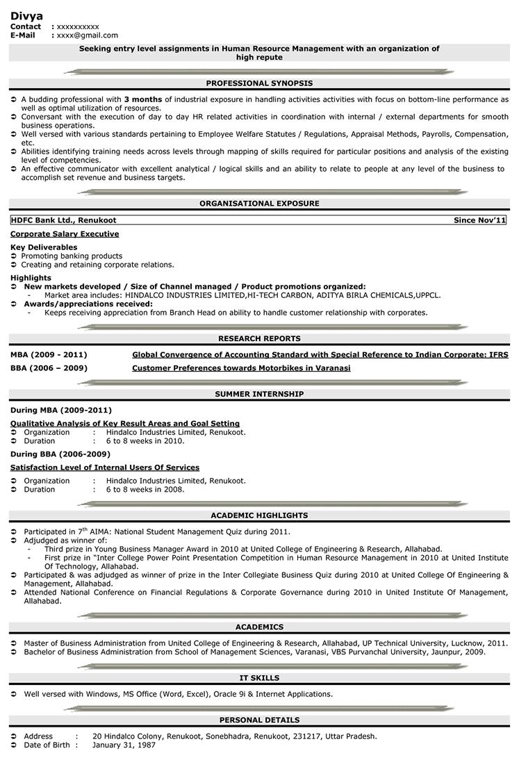 Resume Templates naukri 5000++ Free Professional Resume