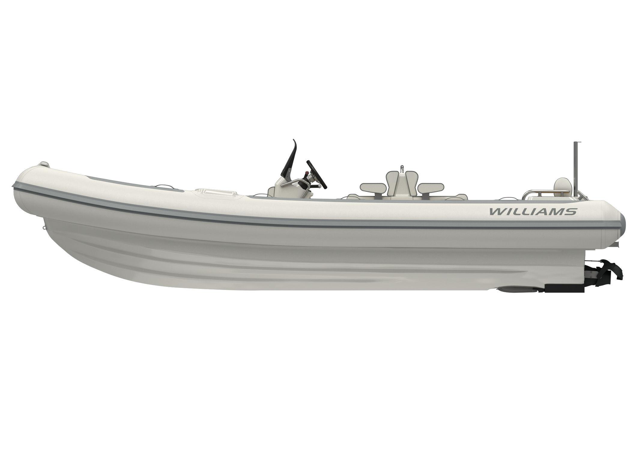 Hydro-jet inflatable boat - DIESELJET 625 - Williams Performance Tenders - diesel / rigid / center console