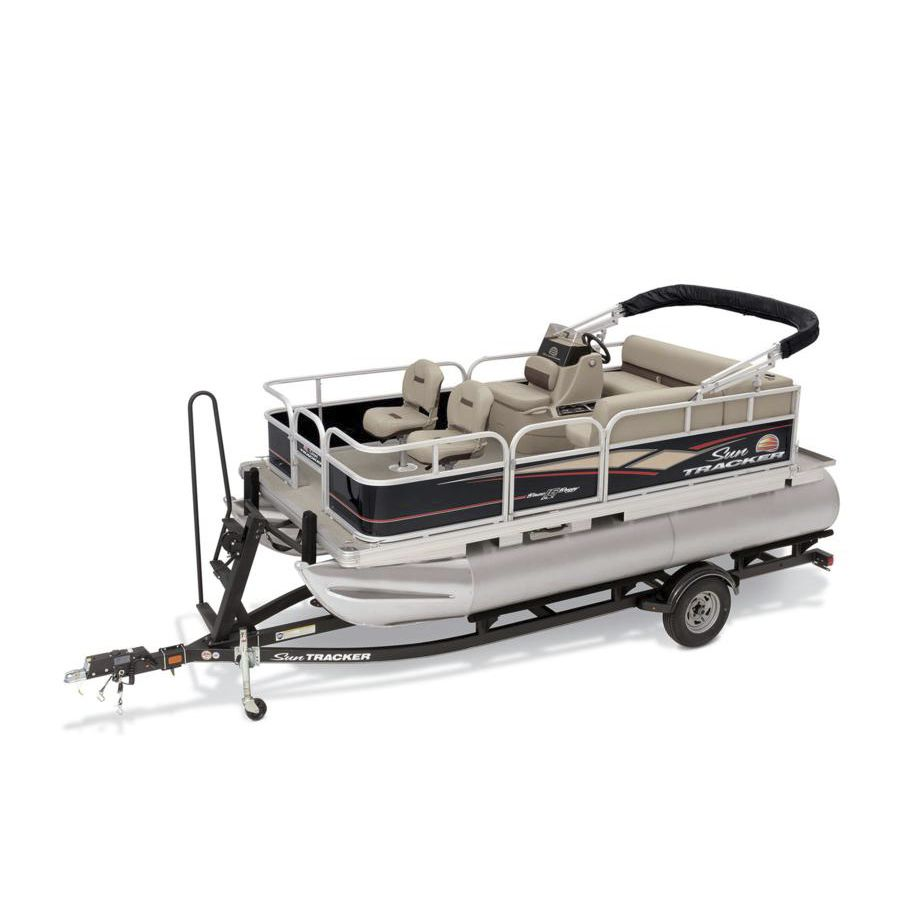 medium resolution of outboard pontoon boat electric sport fishing 7 person max bass buggy 16 dlx et