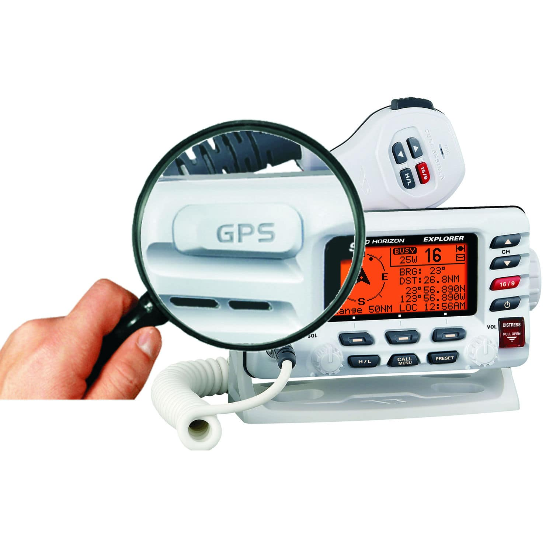 hight resolution of boat radio fixed vhf waterproof explorer gx1700