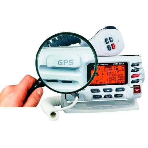 small resolution of boat radio fixed vhf waterproof explorer gx1700