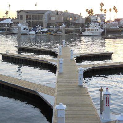 Floating dock - UNIDECK / PORTABLE - Bellingham Marine - mooring / for marinas / for harbors
